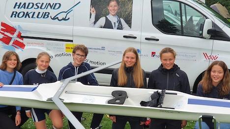 Hadsund Roklubs ungdomsroere vinder en ny singlesculler!